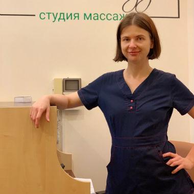 Массажист Киева Оксана