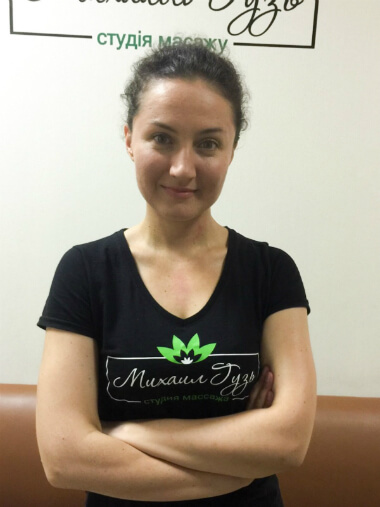 Массажист Киева Марина
