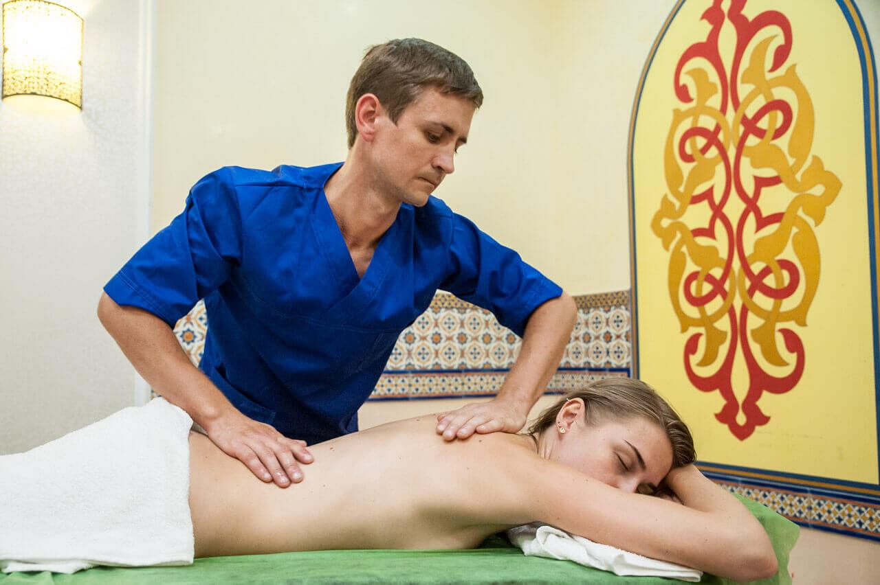 Классический расслабляющий массаж