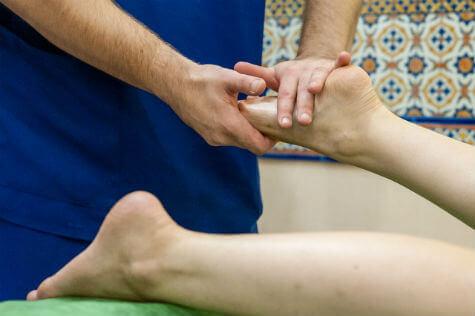 Услуги тайского массаж стоп