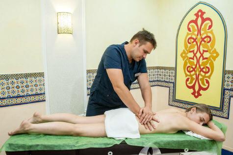 полный массаж тела