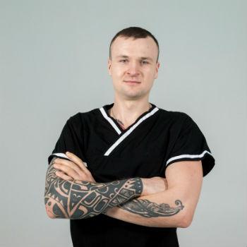 Массажист киев Назар студия михаила гузь